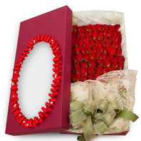 100송이 꽃상자